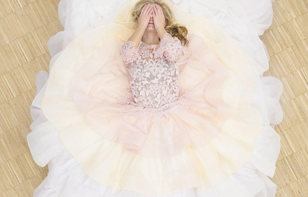 Fotenie svadobných šiat pre Martu Urban Jablonickú